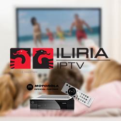IPTV Iliria në televizor